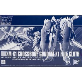 P-Bandai: HGUC 1/144 Crossbone Gundam X-1 [Full Cloth]